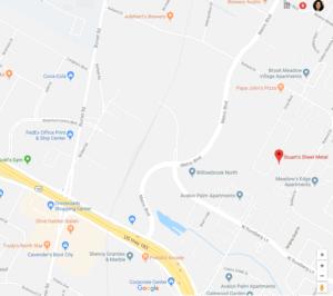 Google Map of Stuart's Sheet Metal