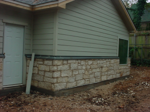 Ledgestone Flashing
